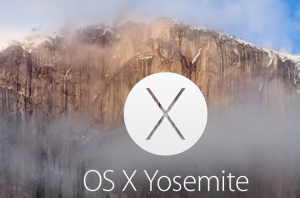 Appple Mac OSX Yosemite Logo